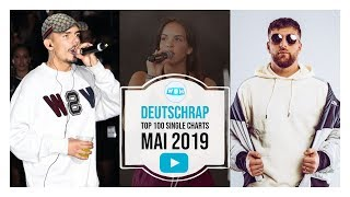 TOP 100 DEUTSCHRAP CHARTS ♫ MAI 2019
