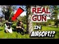 REAL Gun in AIRSOFT!?