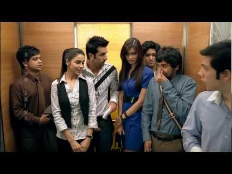 Virgin Elevator- Ranbir Kapoor, Genelia D'Souza.