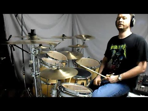 SLAYER - Chemical Warfare (mobile link in description) - drum cover
