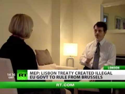 UKIP Gerard Batten MEP - Interview with Russia today 2010