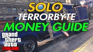 GTA Online - SOLO Terrorbyte Money Guide
