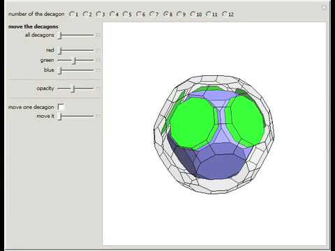 Truncated Dodecahedron to Great Rhombicosidodecahedron