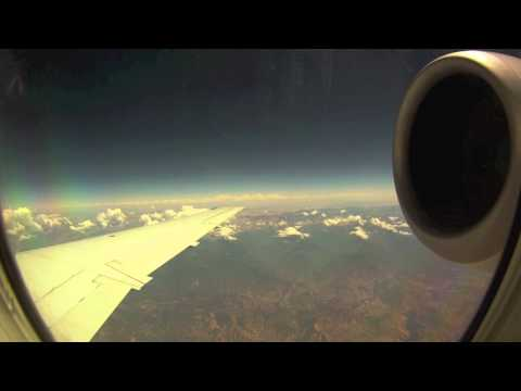 Jet From Los Angeles to Reno (Time Lapse) [M.I.A. - Space]