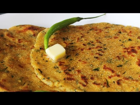Makki Ki Roti | Indian Maize Flour Flat Roti | Popular And Easy Punjabi Recipe