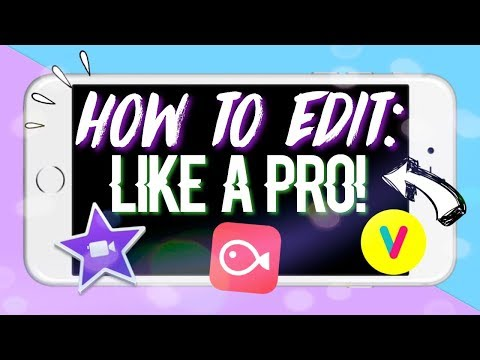 HOW TO EDIT LIKE A PRO ON IPHONE/IPAD/IPOD !