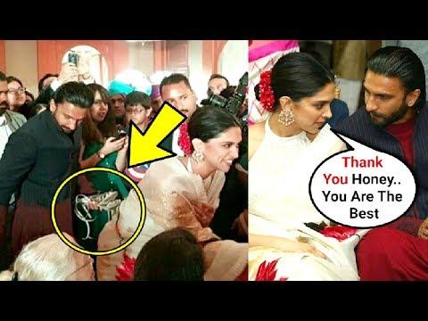 Ranveer Singh Carries Deepika Padukone Heel In His Hand At A Friends Wedding