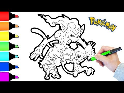 infernape coloring pages - coloring pages pokemon infernape i fun colouring for kids
