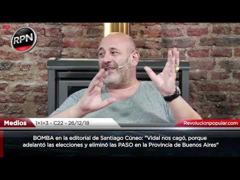 """BOMBA en la editorial de Cúneo: """"nos cagaron, adelantaron las elecciones y eliminaron las PASO"""""""