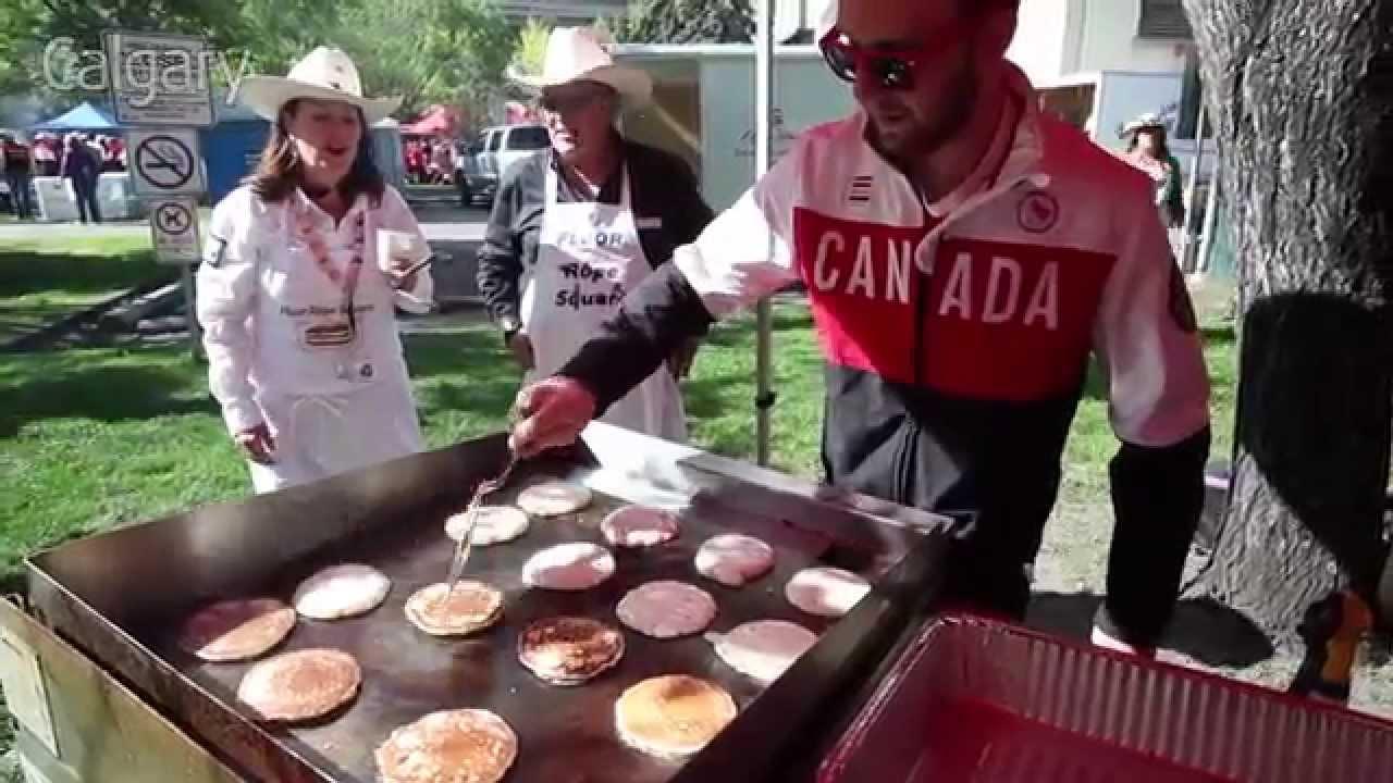 Calgary Stampede Pancake Breakfast Celebration Of