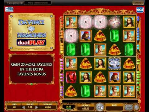 Da Vinci Diamonds Dual Play BIG WIN 5 OFF A KIND DUDE!!!