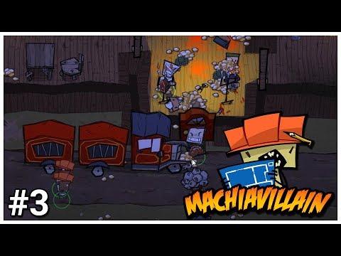 MachiaVillain - #3 - Villainous Vivisection - Let's Play / Gameplay / Construction