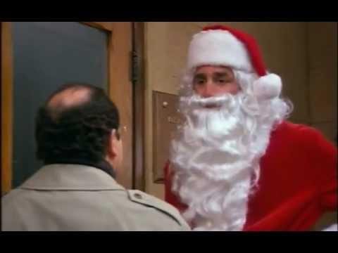 Seinfeld funny deleted scene - Kramer Santa