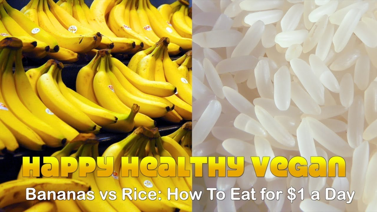Bananas Vs Rice How To Eat 3000 Calories For 1 A Day Youtube