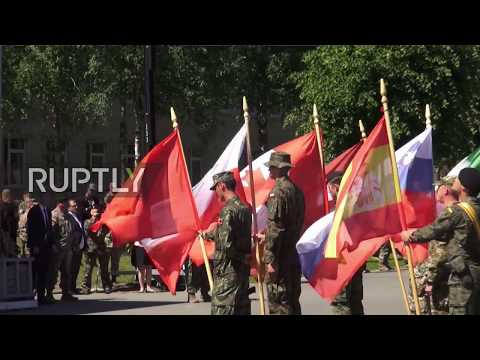 Latvia: NATO troops welcomed to Adazi military base