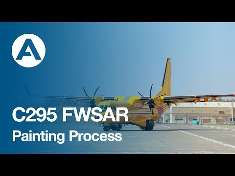 C295 FWSAR - Painting Process