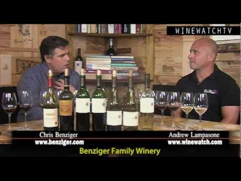 What I Drank Yesterday- Interview with Chris Benziger of Benziger Family Wines - click image for video