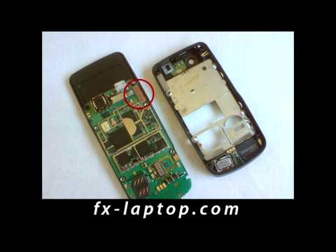 Disassembly Nokia 6600 Slide - Battery Glass Screen Replacement