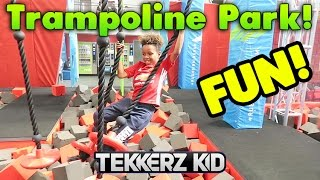 TRAMPOLINE PARK FUN WITH ROMELLO!!