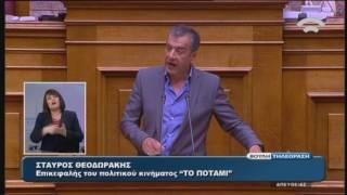 Σ.Θεοδωράκης(Επικεφαλής ΠΟΤΑΜΙ)(Εφαρμογή της Συμφωνίας Δημοσιονομικών Στόχων)(22/052016)