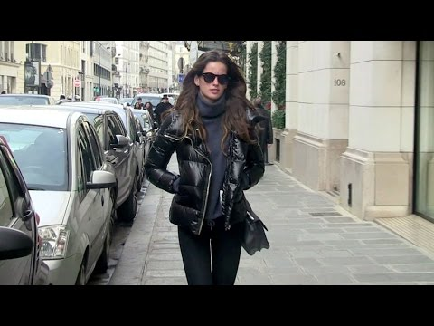 EXCLUSIVE - Victoria s Secret model Izabel Goulart in Paris