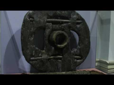 Wooden Block Wheel (400 B.C.) - discovered...