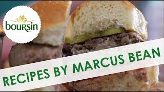 Boursin Beef & Mushroom Burgers