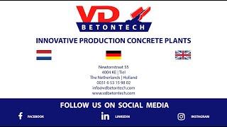 Mobile concrete plant for Vlijm zand en Grint