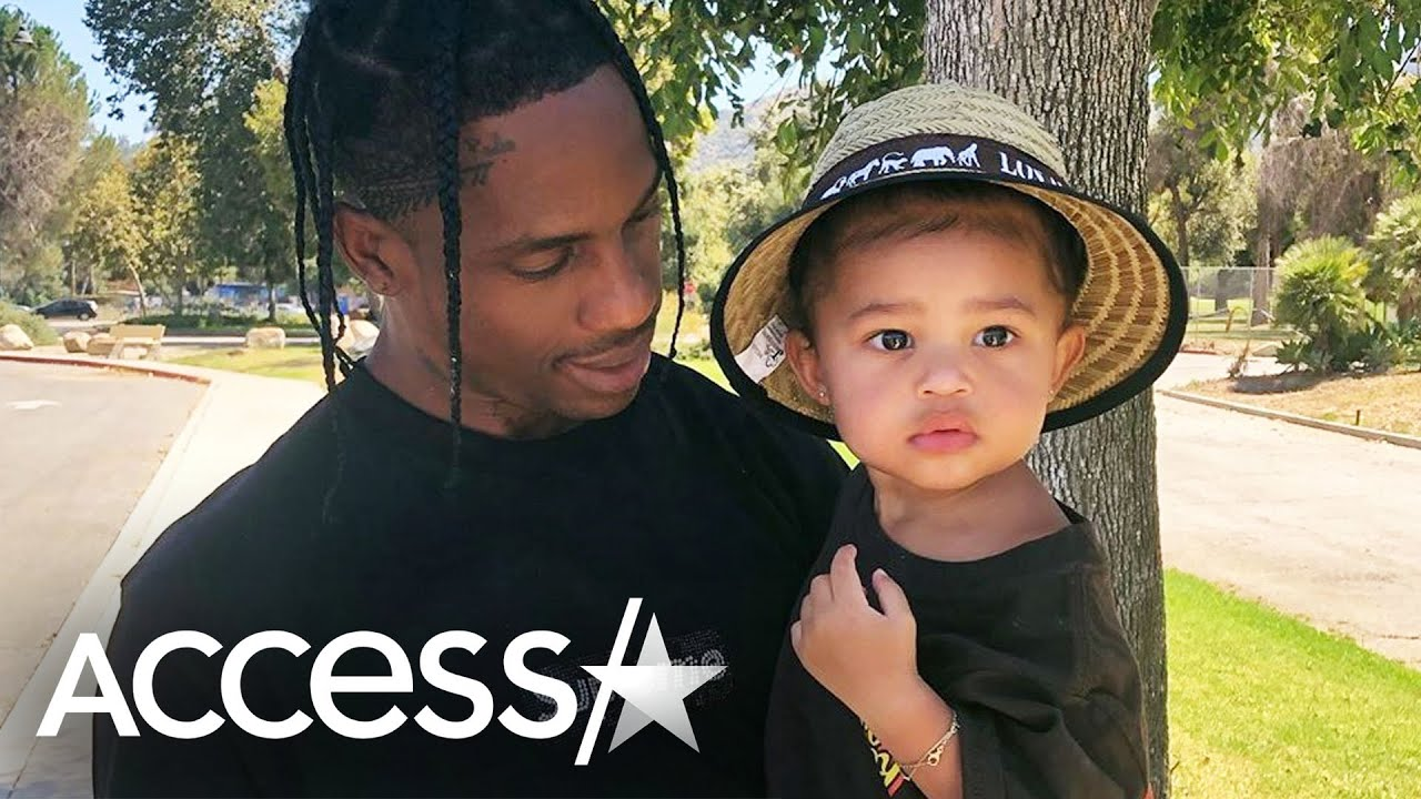 Kylie Jenner & Travis Scott's Daughter Stormi Crashes Instagram Live