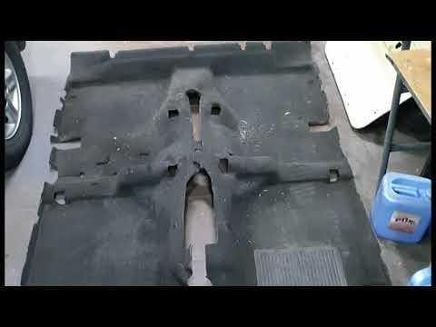 Как обновить ковролин в автомобиле - инструкция
