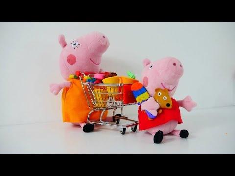 Cocuk  Video - Peppa Pig Oyuncaklari- Peppa Annesiyle Markete Gidiyor