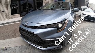 1st. look all-new 2020 Toyota Corolla,  in Savannah, Georgia