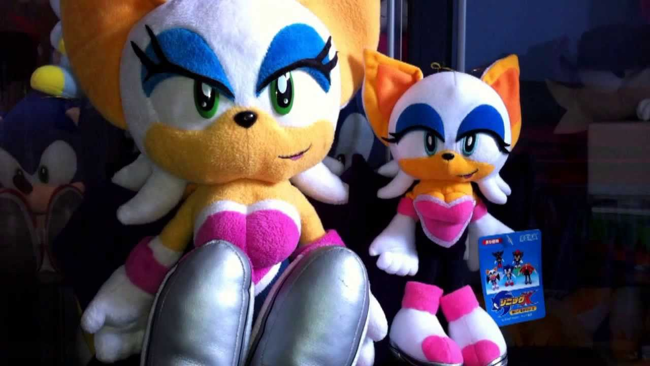 Rouge the Bat Sonic Adventure 2 plush review