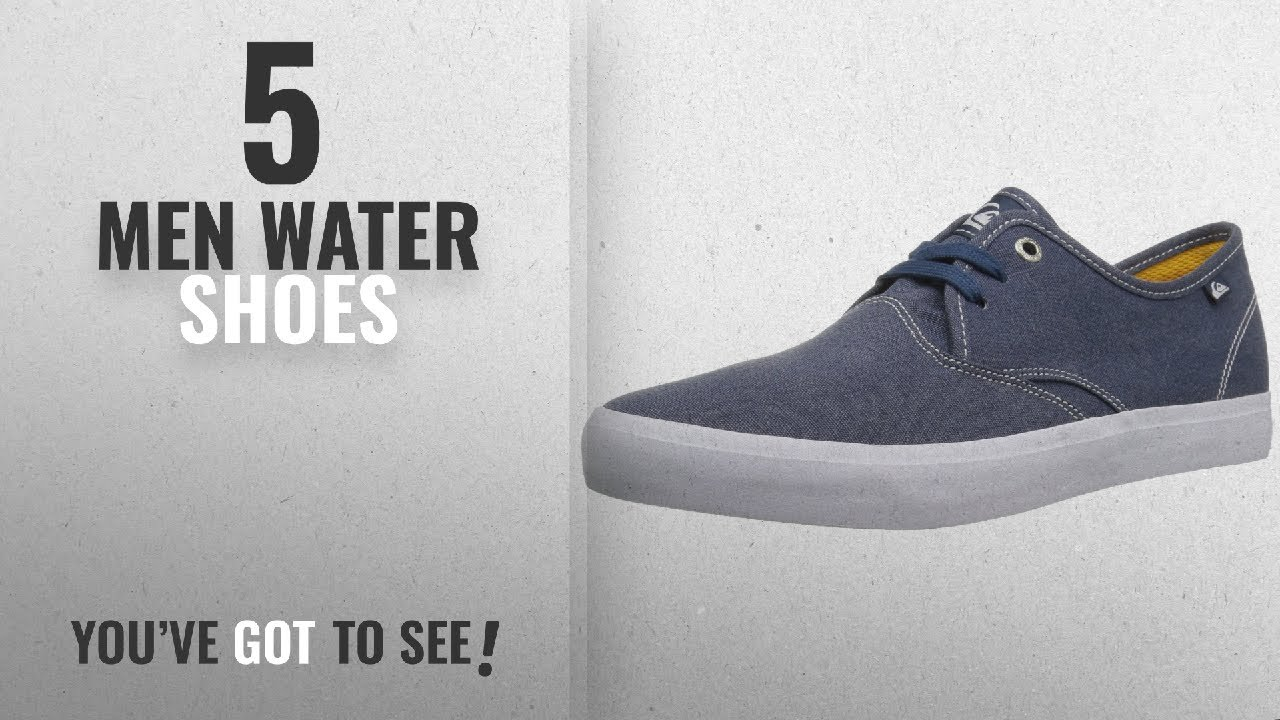 d3559eef193 Quiksilver Water Shoes [ Winter 2018 ] | New & Popular - YouTube