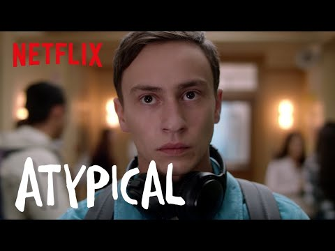 Atypical   Clip: Research on How to Steal a Woman   Netflix
