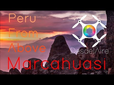 Peru From Above   Marcahuasi 2016   Drone Phantom 4 in 4k
