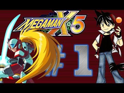 Let's Play Mega Man X5 - Parte 1 (Zero) - Eurasia City