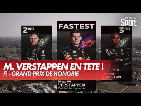Meilleur temps pour Verstappen - GP de Hongrie