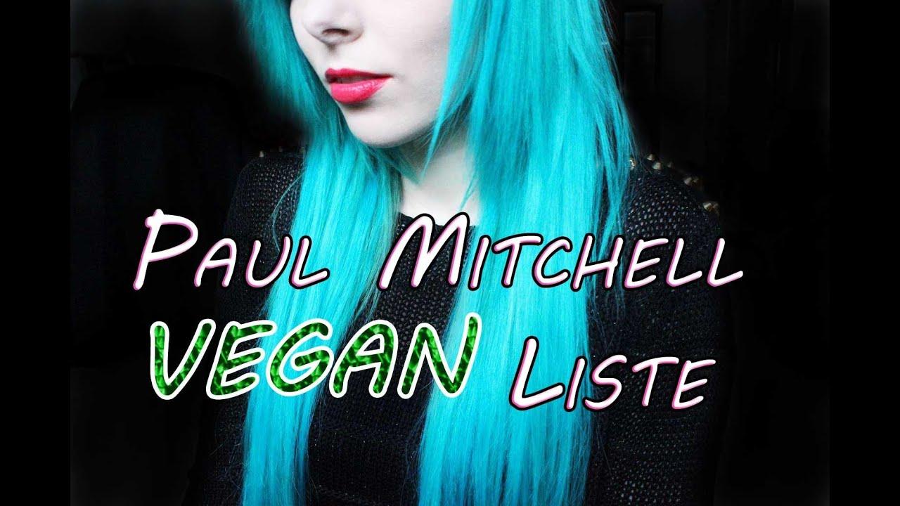 paul mitchell produkte vegan liste youtube. Black Bedroom Furniture Sets. Home Design Ideas