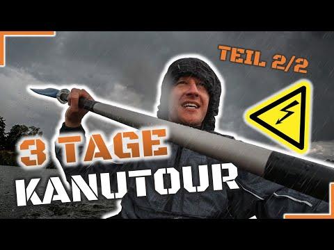 Kajak Tour Auf Der Naab - Teil 2 Von Teublitz / Burglengenfeld Nach Kallmünz