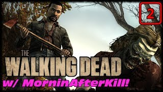 The Walking Dead Season 1 Starved For Help Ep 2! Hey Zambie Where Did Your Legs Go!?!?!