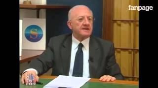De Luca: il candidato del PD che vuole radere al suolo i Centri Sociali e cacciare gli immigrati