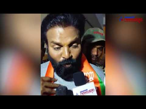 'Congress, JDS are doing unethical politics', says BJP's Sreeramulu