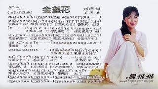 鳳飛飛 - 金盞花【歌譜版】24bit