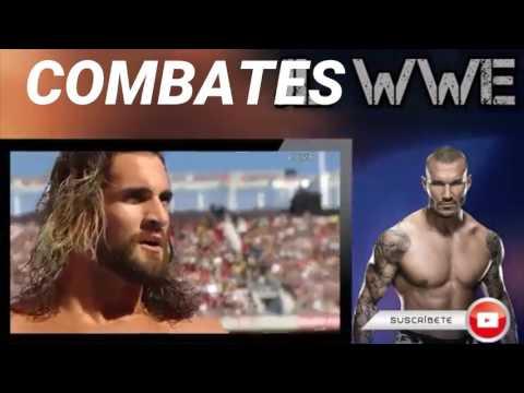 Randy Orton vs Seth Rollins l WrestleMania 31 l Español Latino l Combates WWE