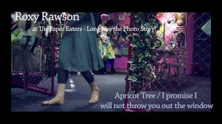 Roxy Rawson - Apricot Tree / I promise I will not throw you out the window