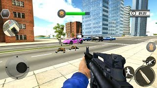 Police Bike City Gangster Chase - Policeman Simulator - Android Gameplay FHD
