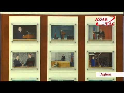 Opening of the new administrative building of New Azerbaijan Party