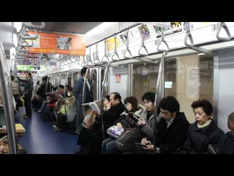 [TokyoMetro] Ride on Chiyoda Line 16000 Series from Nogisaka to Otemachi (Set 16003F)