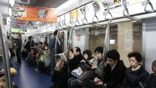 [TokyoMetro] Ride on Chiyoda Line 16000 Series from Nogisaka to Otemachi (Set 16003F)